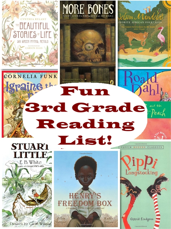 Recommended 3rd Grade Reading List - Homeschool Curriculum