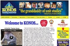 Konos homeschool history curriculum