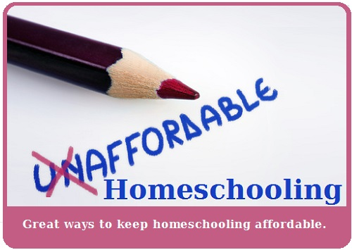 affordable homeschooling graphic