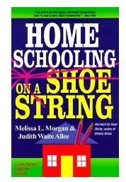 cheap homeschooling - homeschooling on a shoestring book cover
