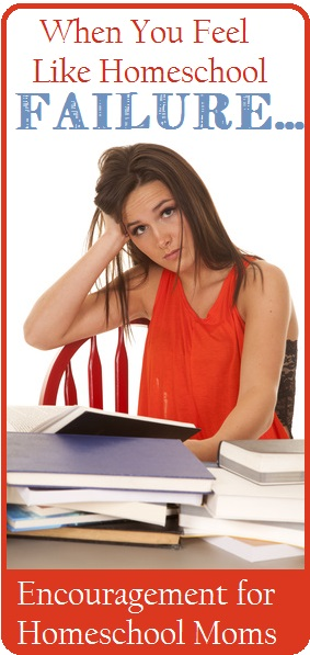 A woman wearing a red top is frustrated by homeschool failure