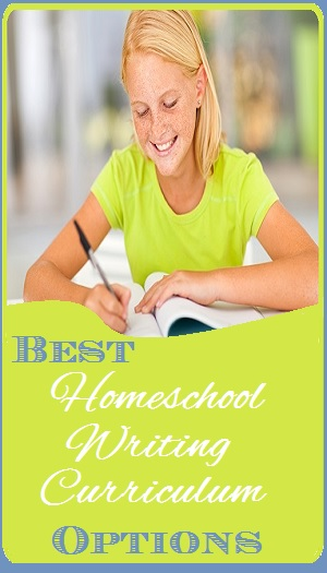Homeschool Writing Curriculum Options graphic