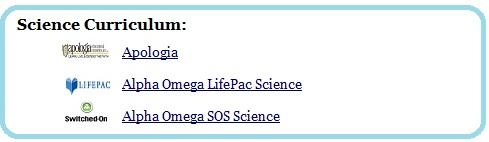 sciencecurriculum