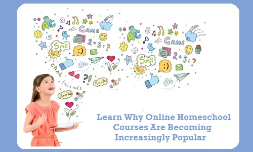 Online Homeschool Courses are Increasingly Popular - Happy cute little girl in red dress holding a digital tablet in hand and fascinated looking up at the colorful icons of different entertainment apps. Isolated on white background