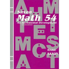 SaxonMath54