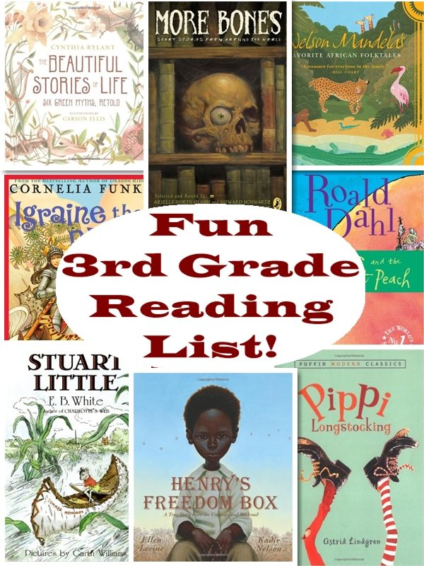 Recommended 3rd Grade Reading List Homeschool Curriculum