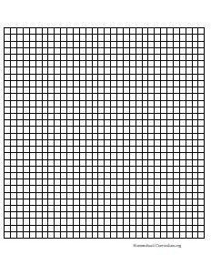 Printable Graph Paper for Math Projects