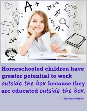 why homeschool - homeschooled children tend to work outside the box