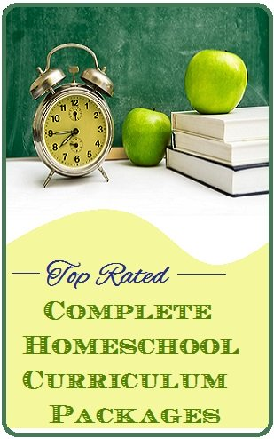 Complete Homeschool Curriculum Packages graphic