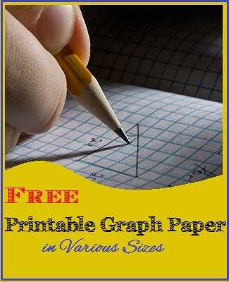 Free printable graph paper for homeschooling math projects