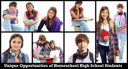 Homeschool High School Student Montage