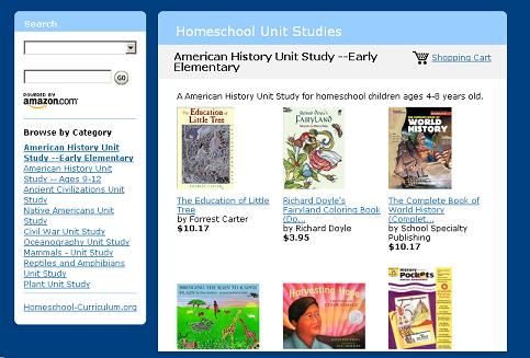 Making Your Own Homeschooling Unit Studies at the Homeschool Unit Studies Store at Amazon