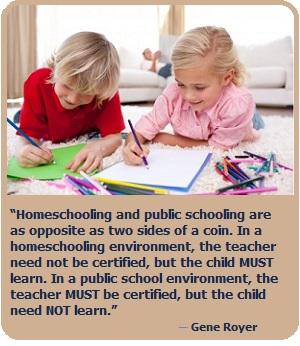 essays on homeschooling vs. public schooling