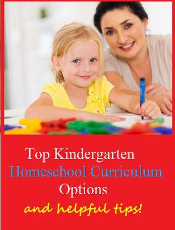 top homeschool kindergarten curriculum options