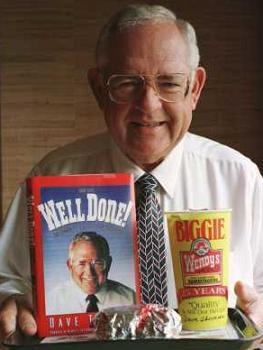 wendys dave thomas - famous homeschooler