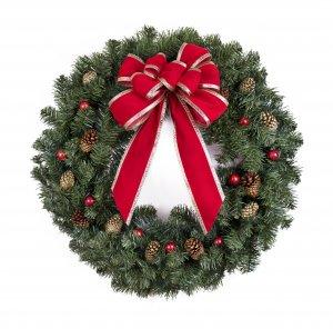 Christmas homeschool study - wreath