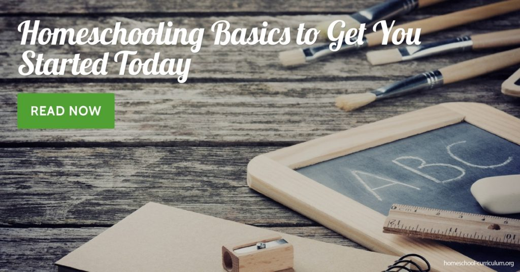 Homeschooling Basics to Get You Started Today free homeschool