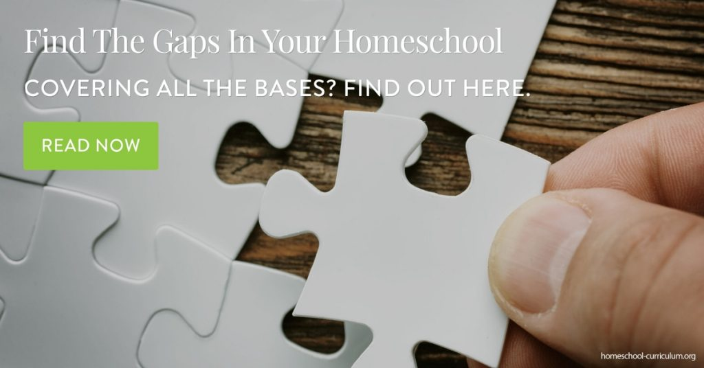 Find The Gaps In Your Homeschool homeschool curriculum