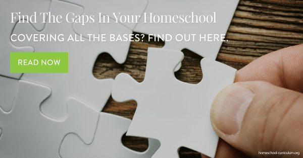 Find The Gaps In Your Homeschool homeschool curriculum