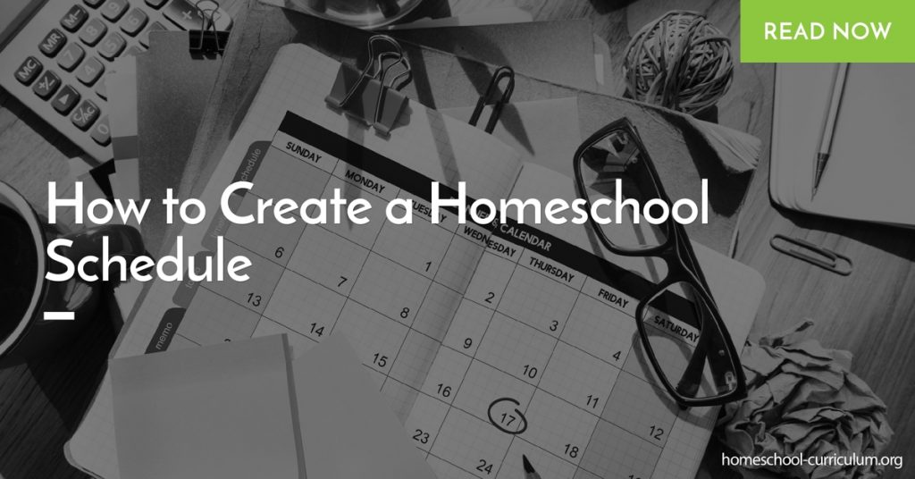 How to Create a Homeschool Schedule home school program