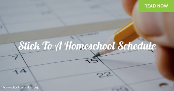 tick To A Homeschool Schedule
