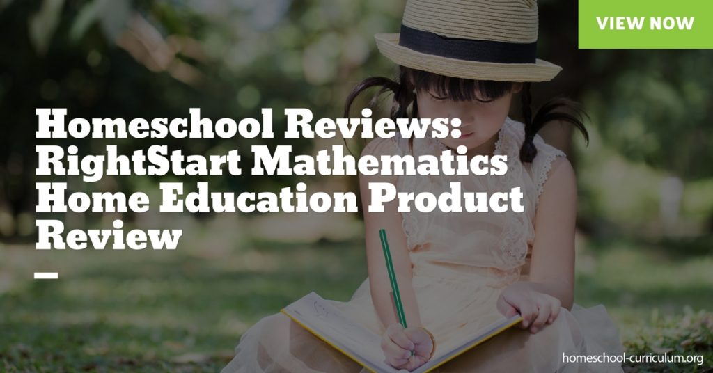 RightStart Mathematics Home Education Product Review